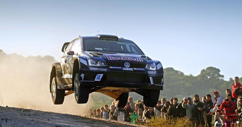 Jari-Matti Latvala hyppäsi perjantaina Argentiinan MM-rallin kärkeen (Kuva: Volkswagen Motorsport).