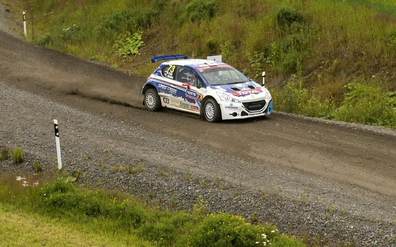 WRC3-luokan kuljettajalta hurjat voltit Puolan testi-ek:lla – Video! | UrheiluUutiset.com