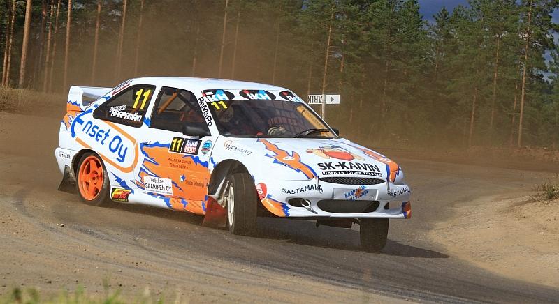 Henri Haapakoski kaasutteli SRC-luokassa kolmanneksi (Kuva: Jari Nurminen).