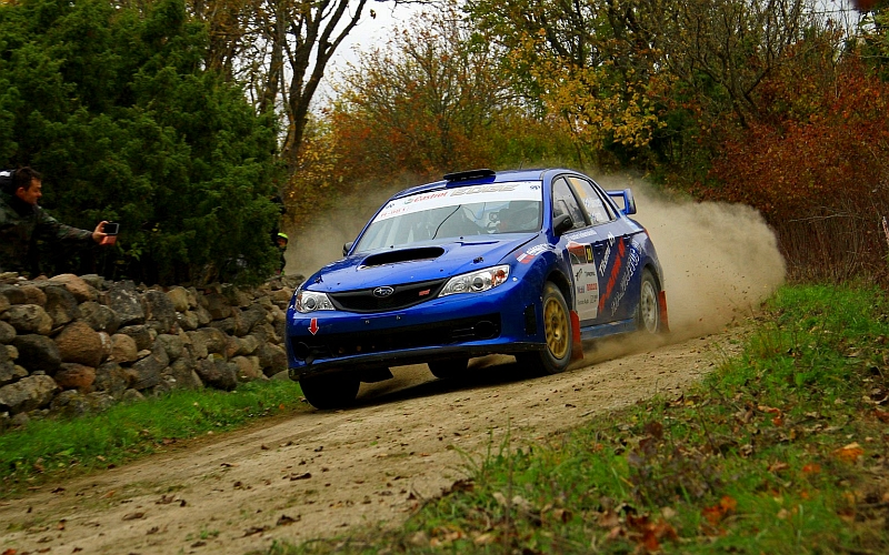 Timo Pulkkinen ja Jaakko Jäntti toivat Subarun EM7-luokassa sijalle kolme.