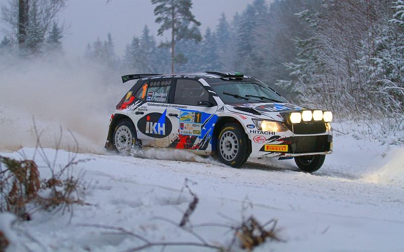 Rovanperä oli rallin nopein kuljettaja jokaisella 10:llä erikoiskokeella (Kuva: Jari Nurminen).