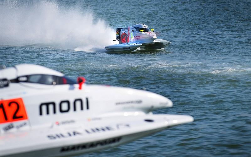 Sääolosuhteet jälleen kerran F1-veneiden MM-osakilpailun harmina   UrheiluUutiset.com